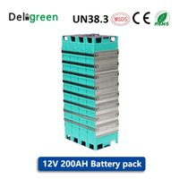 baterias de alta capacidade solar venda por atacado-Baterias de alta capacidade 12V 200AH LIFEPO4 para bicicletas EV Melhores baterias de GBS LIFEPO4 para EV UPS Armazenamento de energia solar GNE030