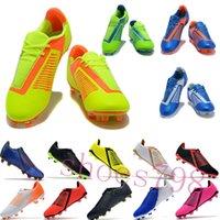 zapatillas de futbol al por mayor-con caja 2019 botines de fútbol de lujo cr7 para hombre FG football copa mundial Fantasma Veneno zapatos juveniles para hombres zapatillas de deporte chaussures deporte corriendo