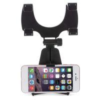 rückspiegel gps halterungen großhandel-Handy-Spiegelhalterung Auto-Halterung Auto-Rückspiegelhalterung LKW Auto Halterung Cradle für iPhone Samsung Huawei und GPS