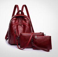 Wholesale set mother bags resale online - Designer Handbags Multifunctional High Quality Composite Bags Child Mother Bags High Quality Backpacks set