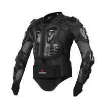 rüstungsgröße großhandel-Motorradjacke Herren Ganzkörper Motorrad Rüstung Motocross Racing Schutzausrüstung Motorrad Schutz Größe S-4XL
