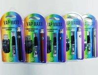 e zigaretten großhandel-Vap Max Kit E-Zigarette Kit 350mAh Vertex vorheizen VV Batterie mit 0,5 ml 1,0 ml Patrone USB-Ladegerät Vape Pen Kits