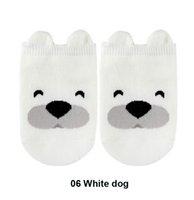 erkek çocuk 3d çorap toptan satış-8 Pairs Bebek Çorap Pamuk Bebek Kısa Çorap Yaz Ve Sonbahar Yenidoğan Bebek Kız Erkek Çorap Çocuk Dağıtım kaymaz 3D Hayvan