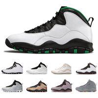 atletik ayakkabılar camo toptan satış-2006 Serin Gray Yeni 10 10s erkek basketbol ayakkabıları Çöl Kamuflaj Seattle Çimento Sınıf geri erkekler atletik spor ayakkabı boyutu 8-13 değilim