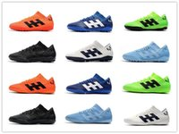 Wholesale acc turf soccer shoes resale online - New ACC Mens Nemeziz Messi Tango IC TF Turf Soccer Cleats Indoor Soccer Shoes Low Top Soccer Boots World Cup Football Shoes