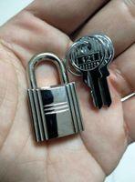 güçlü küçük toptan satış-H kelly çantası aracı Fermuar Çanta Sırt Çantası Bavul Çekmece Küçük Mini Güçlü Çelik Asma Kilit Seyahat Bavul Günlüğü Kilidi Ile 2 Tuşları