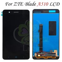 zte bıçaklı sayısallaştırıcı ekran toptan satış-Zte blade a510 için LCD Ekran Dokunmatik Ekran Digitizer Için zte blade a510 Ekran ZTE A510 Ekran Ücretsiz Kargo