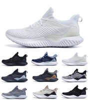 Wholesale alpha bounce resale online - 2019 New Sale AlphaBounce Beyonds High Quality marbles shark outside Running Shoes Black Grey White Alpha Khaki bounce athletic shoes
