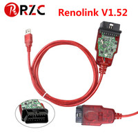 ingrosso codice software di codice-Renolink OBD2 forRenault Programmatore ECU più recente V1.52 CD Software Codifica chiavi UCH Codifica cruscotto corrispondente Funzione di ripristino ECU