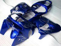 mavi 1998 zx9r toptan satış-Yeni ABS bisiklet marangozluk kiti Ninja Kawasaki ZX9R için fit 1998 1999 ZX-9R 98 ZX 9R 99 ücretsiz Özel parlak mavi