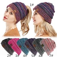 Wholesale knitting crochet hair band for sale - Group buy women Hat Knitted Headband Colors Winter Warmer Head Wrap Hairband Acrylic Crochet Fashion Hair Band Beanie Accessories hot Cap klwh13