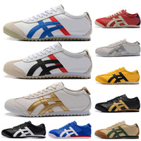 Wholesale branded shoes lightweight for sale - Group buy ASICES Onitsuka Tiger Fashion Brand White Black Blue Red Gold Lightweight Breathable mens designer sneakers outdoor athletic shoes OFF