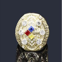 3ca148745 Wholesale super bowl championship rings for sale - NFL Super Bowl  Pittsburgh Steelers Champion Ring Collection