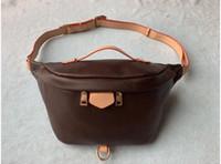 2020 Newest Stlye Famous Bumbag Cross Body fashion Shoulder Bag brown Waist Bags Bum Unisex Waist Bags #M43644