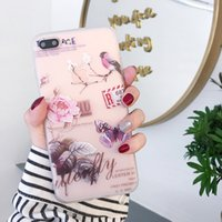 Wholesale iphone 7 case girly online – custom 3D Floral Case For iPhone X XS MAX XR Plus Silicone Girly Colors Luxury Cover