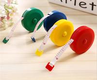maßband zoll großhandel-New Home Tragbare Versenkbare Lineal Zentimeter Gürtel Kinder Höhenlineal Zentimeter Zoll Rollenband 150 cm / 60