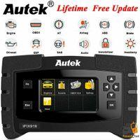 Wholesale porsche oil reset tool resale online - ABS SRS EPB Oil Diagnostic Tool Full System Scanner OBD2 Car Code Reader Autek