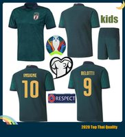italienische tasse großhandel-Italienisch BONUCCI INSIGNE Verratti Totti PIRLO Buffon Fußball-Trikots für Erwachsene + Kind Fußball-Uniform 2019 2020 ITALY Europa-Cup-Fußball Jerseys