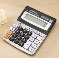 ordinateurs de bureau d'occasion achat en gros de-Fournitures de bureau calculateur de son ordinateur de bureau calculatrice électronique calculatrice de comptabilité d'entreprise en utilisant la batterie emballé numérique