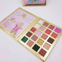 Wholesale eyshadow palette resale online - New brand Christmas color eye shadow makeup palette eyshadow DHL