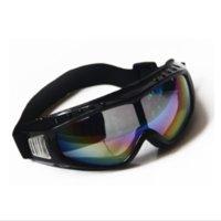 güneş gözlüğü fedex toptan satış-DHL veya FEDEX tarafından 100 adet Açık Kayak Snowboard Gözlüğü Güneş Gözlüğü Gözlük Anti-Uv Rüzgar Geçirmez Spor Ekipmanları