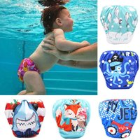 Wholesale diaper reuseable resale online - Toddler Baby Boy Girl Swim Diapers Reuseable Adjustable for Baby Swimming Lesson M3
