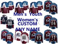 Wholesale yakupov jersey for sale - Group buy 2020 Stadium Series Colorado Avalanche Jerseys J T Compher Nail Yakupov Mark Barberio Matt Nieto Maroon White Ice Hockey Jerseys Custom