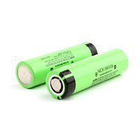 e zigarette wiederaufladbare batterien großhandel-100% hochwertige Panasonic 3400mAh 18650 Akku NCR18650B Lithium-Ionen-Akku Akku für E-Zigarette Flash Light Vape
