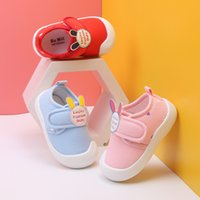 Wholesale shoes baby boy animal online - cute baby rabbit shoes soft sole first walkers newborn infant prewalkers boys girls spring autumn casual shoes