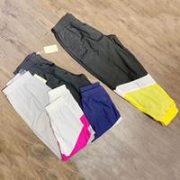 ingrosso donna netta-Pantaloni sportivi Vetements Pantaloni casual elasticizzati casual di alta qualità da uomo Pantaloni da donna elasticizzati con patch in rete Pantaloni sportivi da esterno