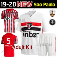 Wholesale jersey brazil thai resale online - Size S XXL Adult kit Brazil Sao Paulo soccer jerseys thai quality home away shirts Brasil Sao Paulo shirts football shirt