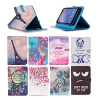 Wholesale z2 tablet online - Universal inch Tablet Case for Sony Xperia Z2 Tablet LTE kickstand PU Flip Cover Case for Sony Xperia Z2 Tablet SGP511 SGP512