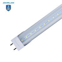 dimmer dimmer lâmpada led dimmable venda por atacado-Regulável t8 regulável traic levou tubo de silício controlado dim integrado T8 lâmpada LED bulbo 4 pés 18W levou luzes G13 pin-Bi