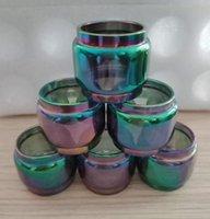 eleaf kit mini ijust großhandel-Rainbow verlängerte Glühlampe Fat Boy Ersatzglasröhre für Eleaf Lemo Drop Melo 3 Mini 4 D25mm 2 Ijust S Tank Kit