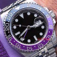 relojes automáticos negro big bang al por mayor-Asia 2813 movimiento de lujo Señora de la manera mecánica automática Gmt hombres para hombre del diamante del diseñador Tag relojes del reloj Relojes hombre Montre de luxe