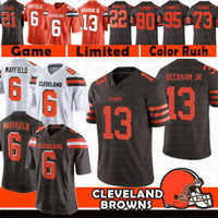 new styles 2b030 dd260 Wholesale Jarvis Landry Jersey for Resale - Group Buy Cheap ...