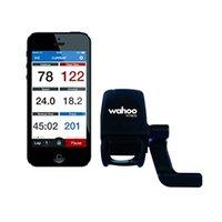 компьютерные велосипеды garmin оптовых-Wahoo Fitness Blue SC Датчик скорости и частоты вращения педалей для смартфона Android ISO Bluetooth 4.0 для GPS-компьютеров Garmin Bike Компьютеры # 78555
