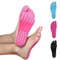 Wholesale stick soles resale online - Hot Waterproof Hypoallergenic Adhesive Feet Pad Foot Stickers Shoes Stick on Soles Sticky Pads Foot Care Feet dropship