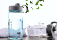 Wholesale plastic carry covers resale online - 1000ML High Capacity Space Cup Portable Creative Plastic Water Bottle Easy To Carry Fitness Sports Hot Sell bj J R