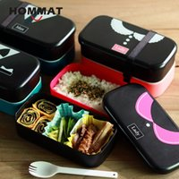 Wholesale cool lunch bags for women for sale - Group buy Japanese Lace Collar Pattern Lunch Box Men Women Bento Box BPA Free Lunchbox For Adult Bento Food Container w Lunch Bag Camping C18112301