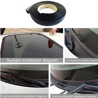 Wholesale land rover resale online - Car sunroof seal sticker for Land Rover LR4 LR2 Evoque discovery freelander AUTO Accessories