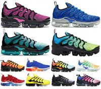 2020 Vapors Tn Plus Spirit Teal Geometric Active Women Mens Running Shoes Aurora Green Designer Men Sneakers Trainers maxes Size 36 46