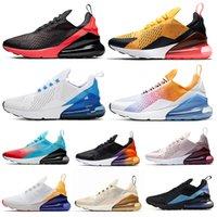 fotos de esportes venda por atacado-Nike Air Max 270 Shoes Homens tênis SE preto Multi praia sul triplo preto branco CNY retrocesso futuro mulheres Mens Traners tênis esportivos 36-45