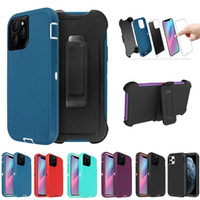 Wholesale heavy duty iphone hybrid for sale – best For iPhone Pro Max case iphone X Xs Max XR Plus Hybrid Robot FRugged Heavy Duty Defender full body Case cover W Belt Clip