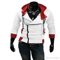 assassine kaufte neue jacke großhandel-Plus Size neue Art und Weise der stilvollen Männer Assassins Creed 9 Desmond Miles Kostüm Hoodie Cosplay-Mantel-Jacke