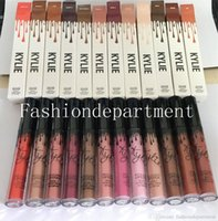 Wholesale 12 lipstick resale online - In stock New makeup Lipstick Matte Lipstick cosmetics Various available Popular color set epacket