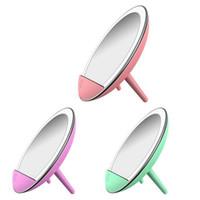 ingrosso set di caricabatterie wireless-1 Set LED specchio per il trucco con luce Smart Makeup Fill Light Caricatore wireless del telefono mobile con tre livelli di oscuramento