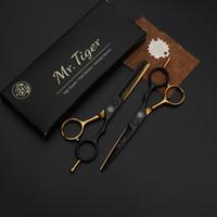 profesyonel saç kesme makası setleri toptan satış-6 İnç Japonya Çelik Profesyonel Kuaförlük Makas Saç Profesyonel Kuaför Makas Seti Saç Makası Makas Haircut Kesme