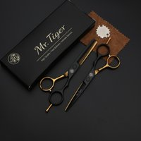 inch friseur schere großhandel-6 Zoll Japan Stahl Professionelle Friseurschere Haar Professionelle Friseurschere Set Haarschneide Schere Schere Haarschnitt