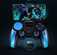 juegos de ipega al por mayor-IPEGA Gamepad PG-9090 Controlador inalámbrico de juegos Bluetooth Teléfono Joystick Joypad Para Huawei Samsung Iphone TV BOX Controlador de juegos
